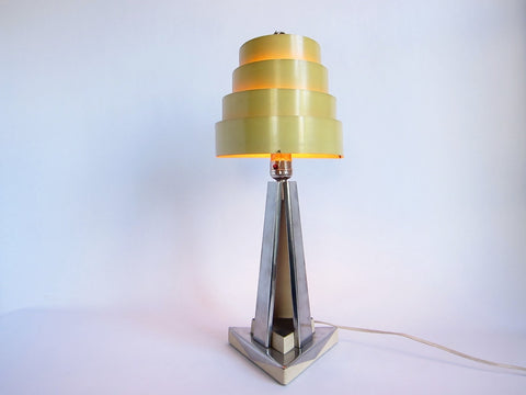 Art Deco Style Table Lamp - Yesteryear Essentials  - 1