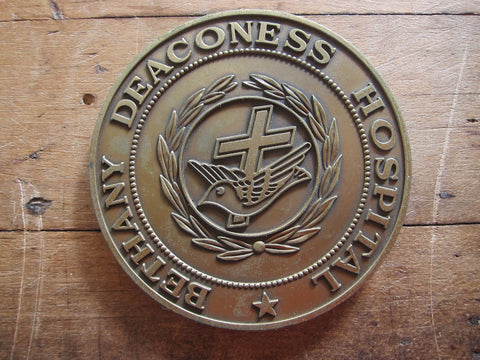 Bethany Deaconess Hospital 70 Yr Anniversary Medal - Yesteryear Essentials  - 1