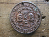 Queen Victoria Jubilee of the Band of Hope Movement Medallion - 1897 - Yesteryear Essentials  - 9