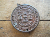 Queen Victoria Jubilee of the Band of Hope Movement Medallion - 1897 - Yesteryear Essentials  - 3