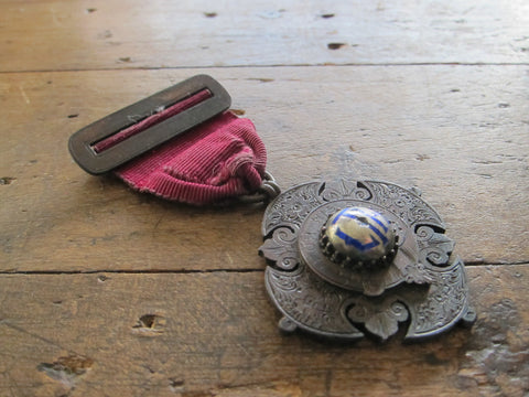"""For His Sake"" London Temperance Hospital Religious Medal - Yesteryear Essentials  - 1"