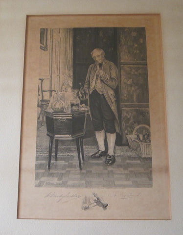 Antique Lithograph by W Dendy Sadler & C H Boucher - Yesteryear Essentials  - 1