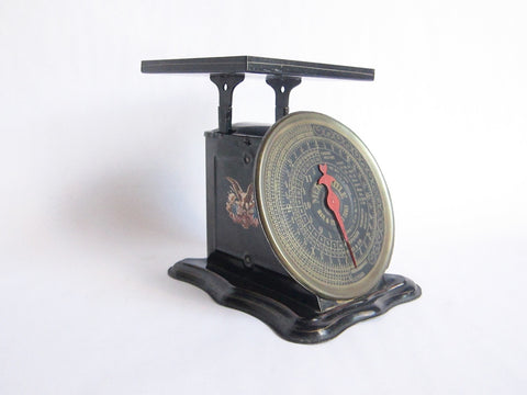 Antique 1906 Mercantile Mail & Express Weighing Scale - Yesteryear Essentials  - 1
