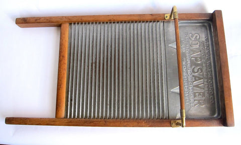 Antique National Washboard - Soap Saver - Yesteryear Essentials  - 1
