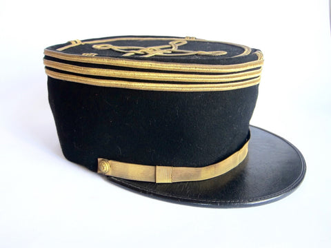 French Officers Military Kepi Hat - Size 6 3/4 - Yesteryear Essentials  - 1