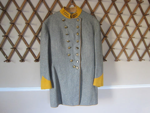 Howard Keel Confederate Officers Movie Uniform - Yesteryear Essentials  - 1