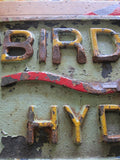 Aviation Birdsboro Hydraulic PA Iron Sign - Yesteryear Essentials  - 11