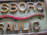 Aviation Birdsboro Hydraulic PA Iron Sign - Yesteryear Essentials  - 3