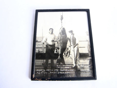 Original Walter Lang  Fishing Photograph - Yesteryear Essentials  - 1