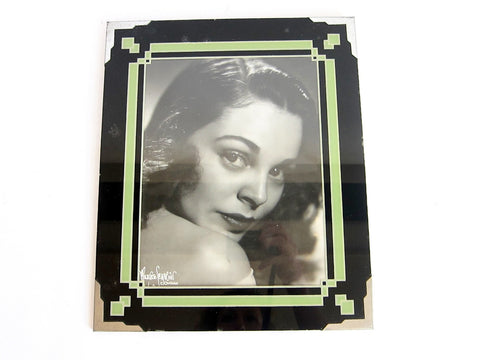 "Art Deco 8"" x 10"" Picture Frame & Maurice Seymour Photo - Yesteryear Essentials  - 1"