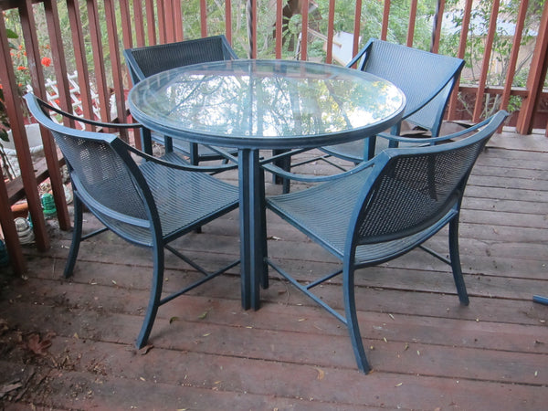 Brown Jordan Regent Series Garden Patio Furniture Set
