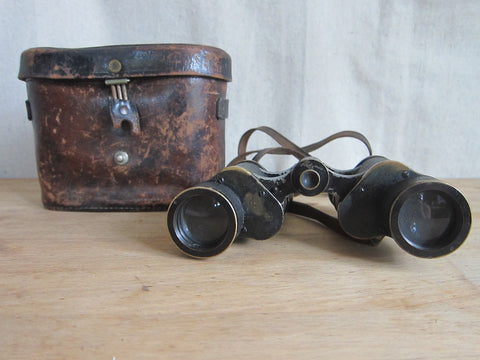 Pre WW1 Era Carl Zeiss German Binoculars - 227084 6x Silvamar - Yesteryear Essentials  - 1