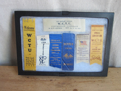 California WCTU Ribbons - 1920s & 1930s - Yesteryear Essentials  - 1