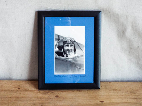 Albert Bresnik Photograph of Famous Aviator Evelyn Bobbi Trout - Yesteryear Essentials  - 1
