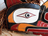 Vintage Northwest Ceremonial Tribal Mask - Yesteryear Essentials  - 3