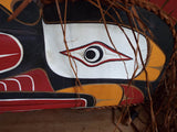 Vintage Northwest Ceremonial Tribal Mask - Yesteryear Essentials  - 6