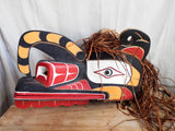 Vintage Northwest Ceremonial Tribal Mask - Yesteryear Essentials  - 8