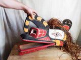 Vintage Northwest Ceremonial Tribal Mask - Yesteryear Essentials  - 2