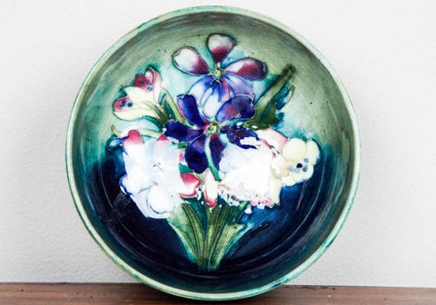 Vintage William Moorcroft Glazed Dish - Yesteryear Essentials  - 1