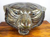 Vintage Signed Sergio Bustamante Lifesize Tiger Head Copper & Brass Sculpture 12/100 - Yesteryear Essentials  - 12