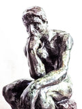 Vintage August Rodin Bronze Sculpture ~ The Thinker - Yesteryear Essentials  - 2