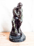 Vintage August Rodin Bronze Sculpture ~ The Thinker - Yesteryear Essentials  - 8