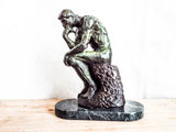 Vintage August Rodin Bronze Sculpture ~ The Thinker - Yesteryear Essentials  - 12