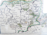 Antique 1630s Map ~ Saxonia Superior Cum Lusatia et Misnia William Blaeu - Yesteryear Essentials  - 4