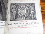1681 Opera Medica by SYLVIUS, Franciscus Deleboe - Yesteryear Essentials  - 4
