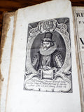 Antique 1671 Leather Bound Resuscitatio by Francis Bacon - Yesteryear Essentials  - 11