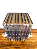 Antique 1902 Set 8 Volumes Character Sketches of Romance Fiction and the Drama by Selmar Hess - Yesteryear Essentials  - 5