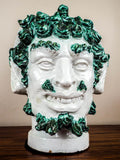 1850s Antique Staffordshire Ceramic Bacchus Head Wedding Jug - Yesteryear Essentials  - 6