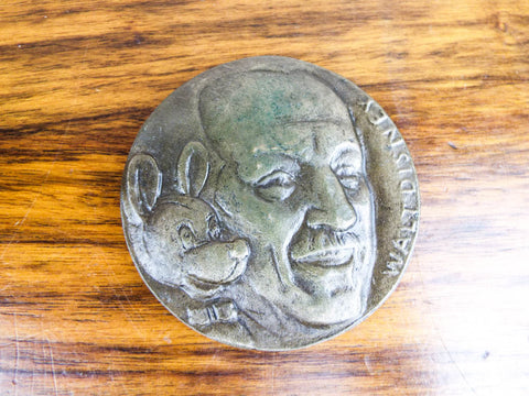 Alex Shagin Bronze Walt Disney Mickey Mouse Medallion