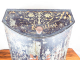 Antique Huge Lithograph English Breakfast Tea Tin Canister Bin Henry Troemner