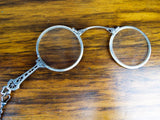 Antique Edwardian Art Deco Sterling Silver Lorgnette Opera Glasses - Yesteryear Essentials  - 4
