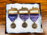 1930s WCTU Convention Medals & Member Ribbons