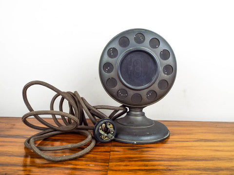 Rare Antique 1920's Enclosed Ring Microphone - Yesteryear Essentials  - 1