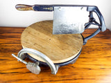 Antique Safe Computing Cheese Cutter Co Deli Country Store Cheese Wedge Cutter
