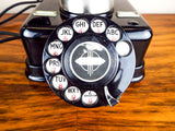 Antique Rotary Dial Danish Kjobenhavns Telefon Telephone - Yesteryear Essentials  - 6