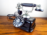 Antique Rotary Dial Danish Kjobenhavns Telefon Telephone - Yesteryear Essentials  - 2