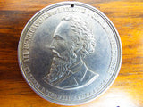 Antique 1865 Aluminum 1000 Fine Religious Dr Henry D Cogswell Temperance Coin Medal Medallion