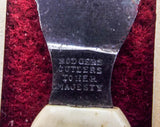 Rare Antique Victorian Medical Surgical Bleeder Knife Lancet Tool by Rodgers Cutlers to Her Majesty