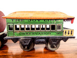 Vintage 1920s American Toy Train Ives Railway Lines