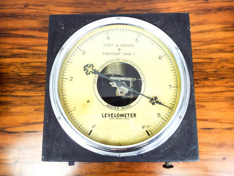 Rare Vintage Brewery Scientific Levelometer