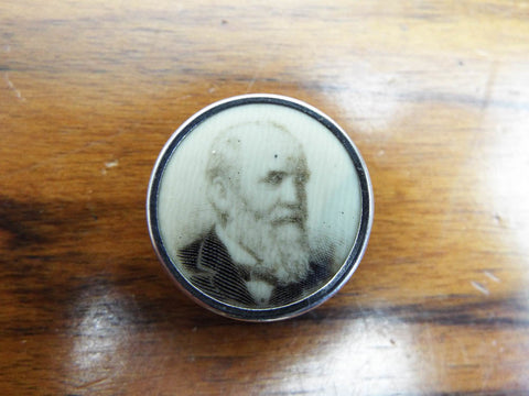 Antique Political Presidential Campaign 1888 Badge