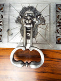 Art Deco North Wind Head Italian Door Knocker