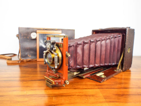 Antique Pony Premo No 6 Folding Bellows Camera