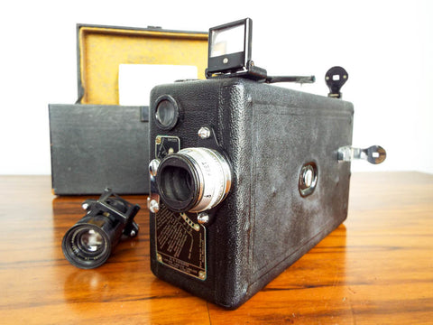 1920s Eastman Cine Kodak Model B Movie Camera