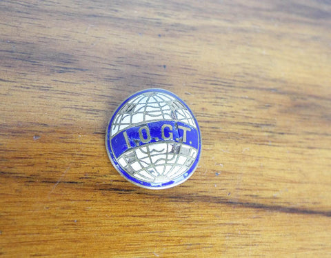 Antique Religious 1920s IOGT Temperance Pin