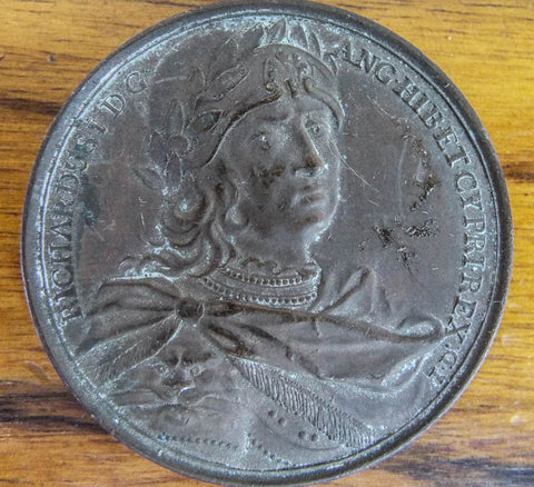 1731 Bronze King Richard I ~ Jean Dassier